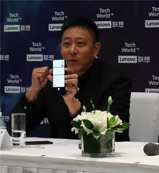 Вице-президент Lenovo показал смартфон-слайдер Lenovo Z5 Pro