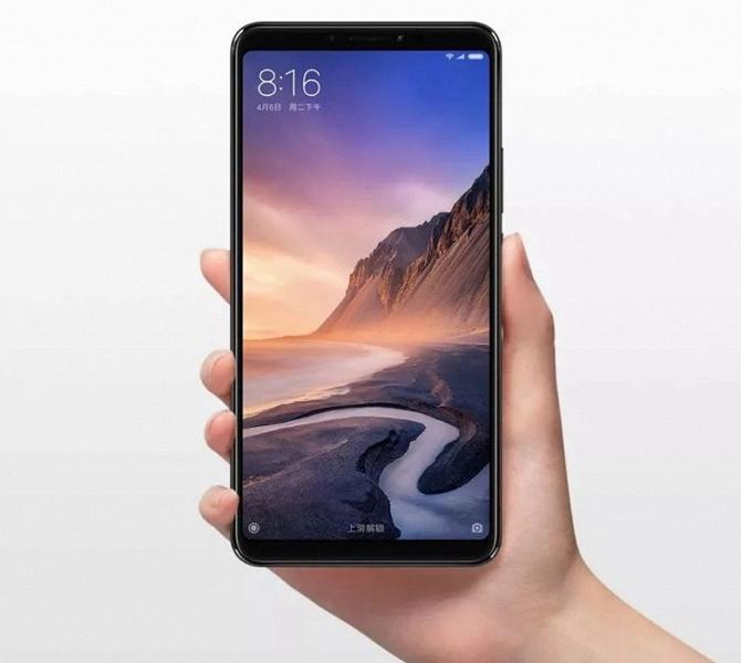Огромный смартфон Xiaomi Mi Max 3 получил важное обновление
