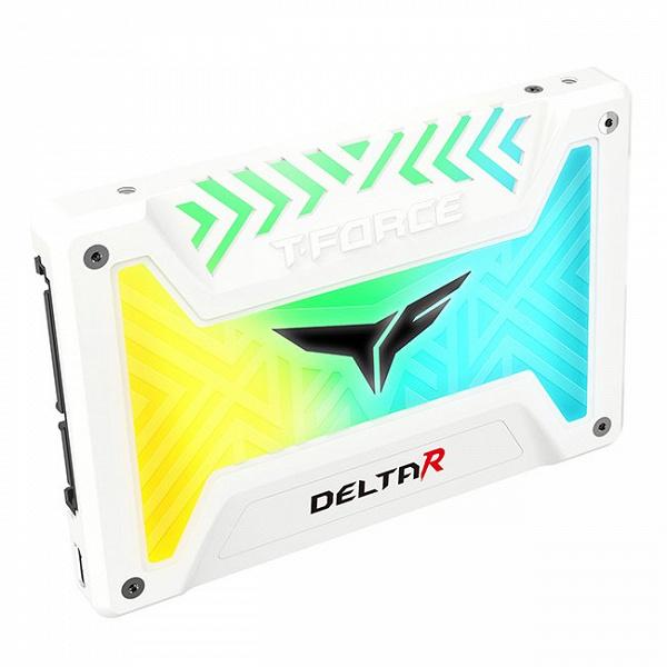 Твердотельный накопитель T-Force Delta R RGB имеет «самую большую подсветку в отрасли», но она не программируется