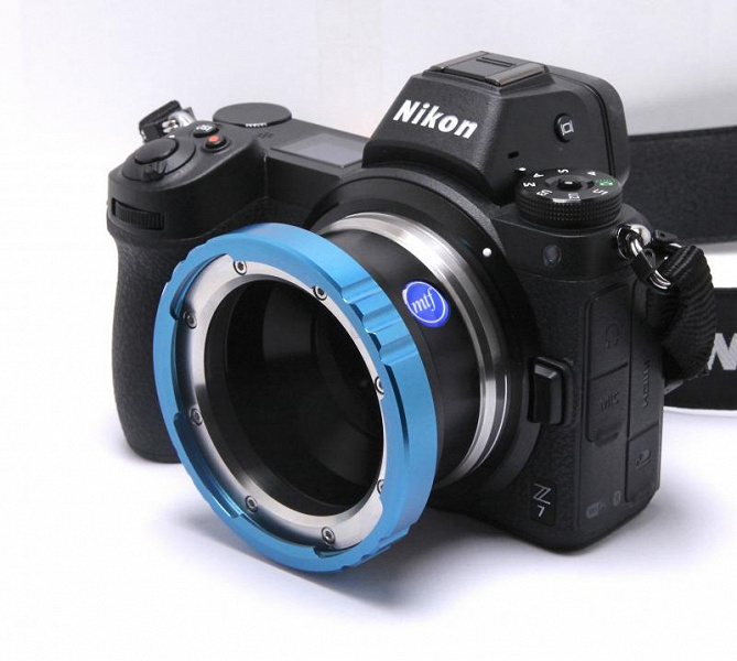 Компания MTF Services утверждает, что первой выпустила сторонние адаптеры для камер Nikon Z