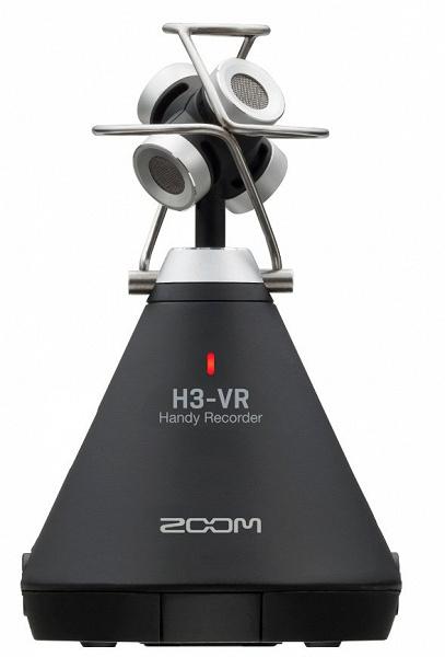 Портативный рекордер Zoom H3-VR предназначен для записи звука виртуальной реальности и не только