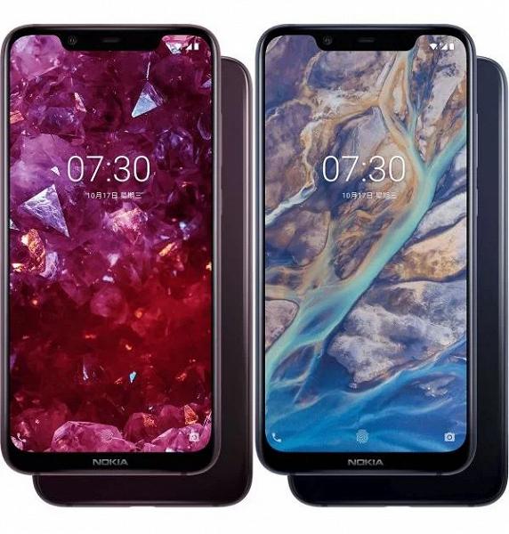 Смартфон Nokia X7 на международный рынок выйдет под именем Nokia 8.1