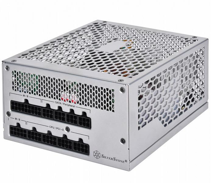Блок питания SilverStone NightJar NJ600 мощностью 600 Вт обходится без вентиляторов