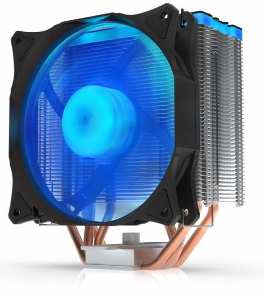 Процессорная система охлаждения SilentiumPC Fera 3 RGB HE1224 украшена подсветкой