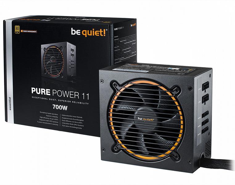 Серия блоков питания be quiet! Pure Power 11 включает 10 моделей