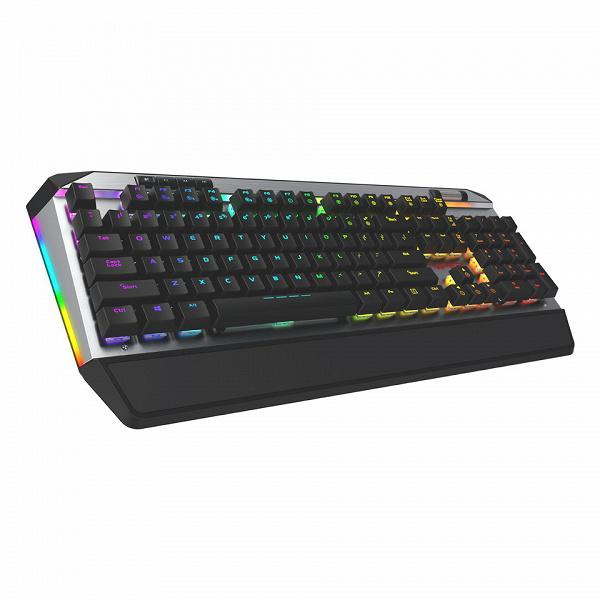 В клавиатуре Patriot Viper V765 RGB используются механические переключатели Kailh White Box