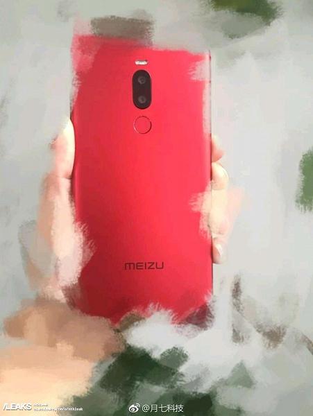 Meizu Note 8 засветился на живой фотографии