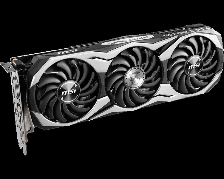 MSI представила сразу восемь моделей видеокарт GeForce RTX 2070