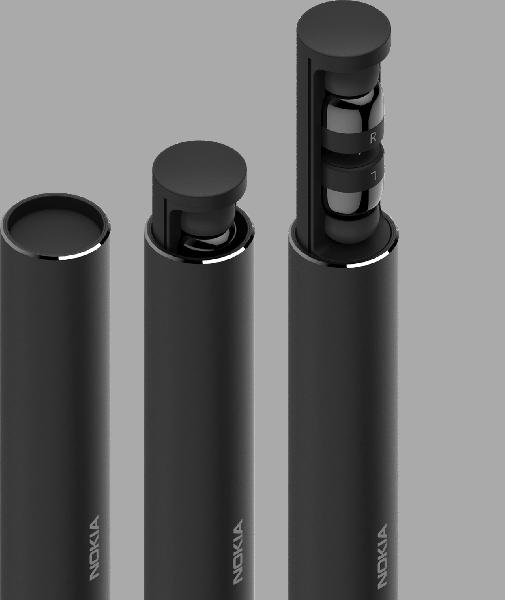 Nokia True Wireless Earbuds — полностью беспроводные наушники с футляром необычной формы