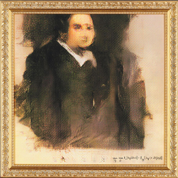 Картина, написанная искусственным интеллектом, продана на аукционе за 432 000 долларов