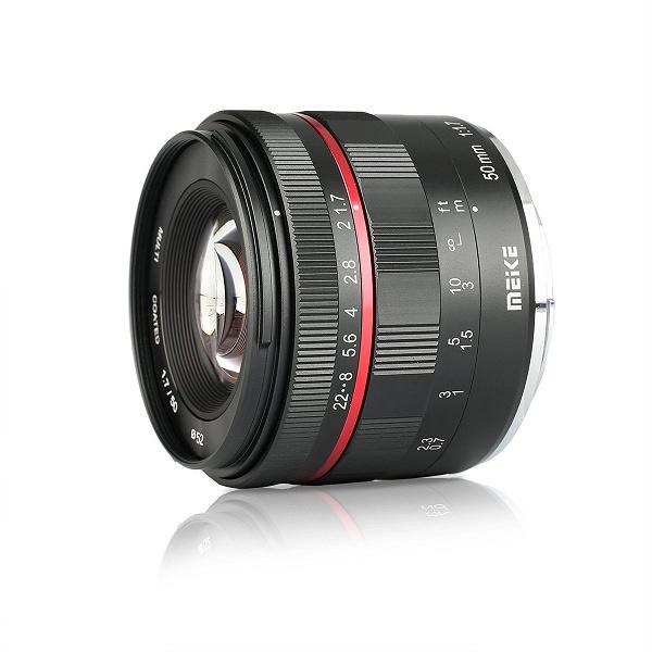 Объектив Meike 50mm F/1.7 доступен в варианте для беззеркальных камер Nikon Z