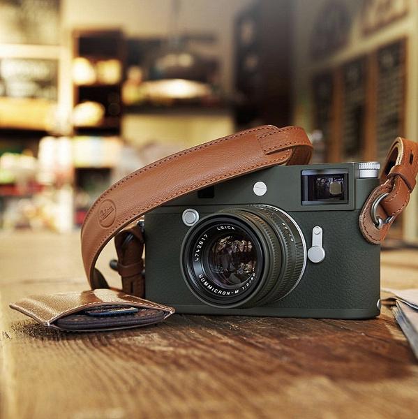 Камера Leica M10-P Safari и подходящий по оформлению объектив будут продаваться отдельно