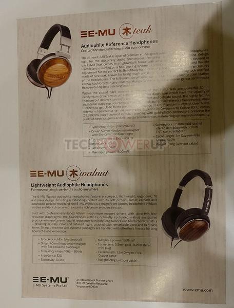 Creative E-MU Teak и E-MU Walnut — аудиофильские наушники со сменными деревянными корпусами
