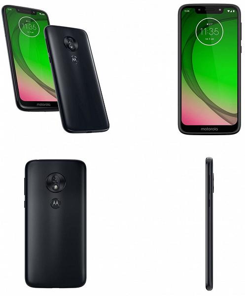 Опубликованы официальные изображения всех четырех смартфонов линейки Moto G7, объявлены европейские цены G7 Play и G7 Power