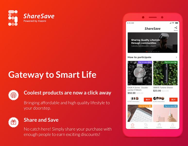 Приложение Xiaomi позволяет покупать на площадке коллективного финансирования в Китае