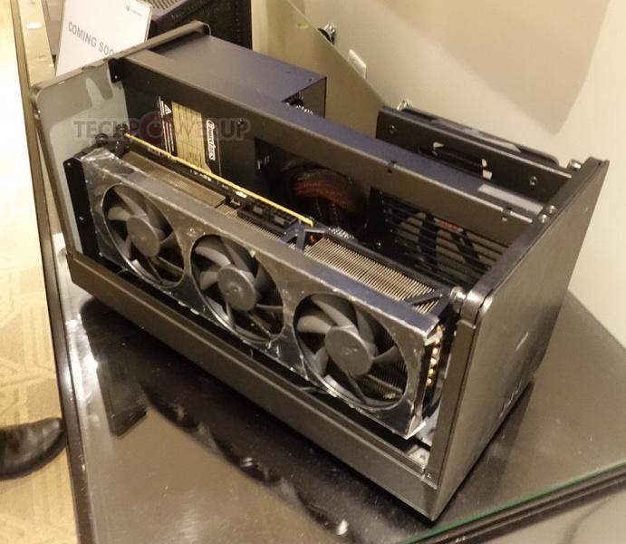 PowerColor показала сразу три внешних видеокарты и готовит док-станцию стоимостью всего 200 долларов