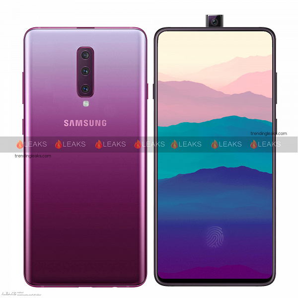 Смартфон Samsung Galaxy A90 с выдвижной камерой и Snapdragon 845 выйдет в марте