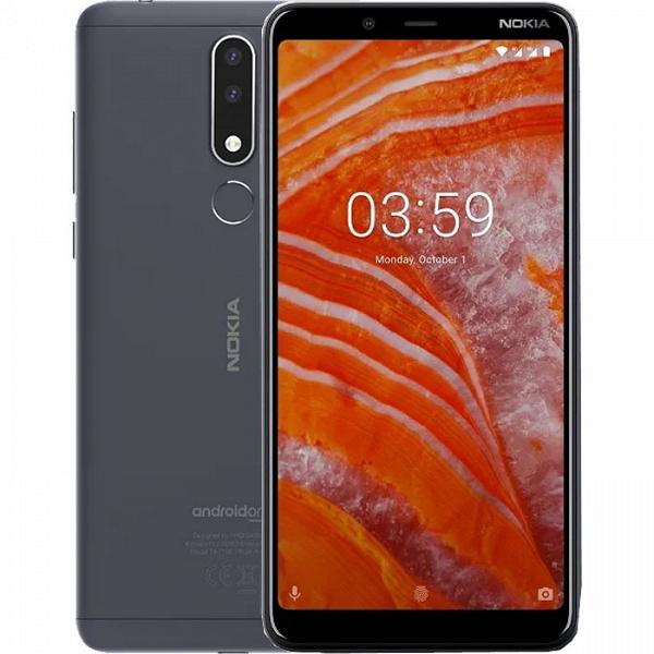 Смартфон Nokia 3.1 Plus получил обновление до Android 9.0 Pie