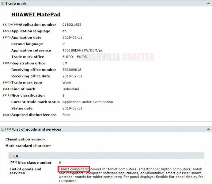 Huawei выпустит линейку премиальных планшетов Huawei MatePad, которая составит конкуренцию iPad Pro