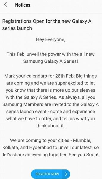 Смартфоны Samsung Galaxy A70 и A90 получат огромные дисплеи диагональю 6,7 дюйма