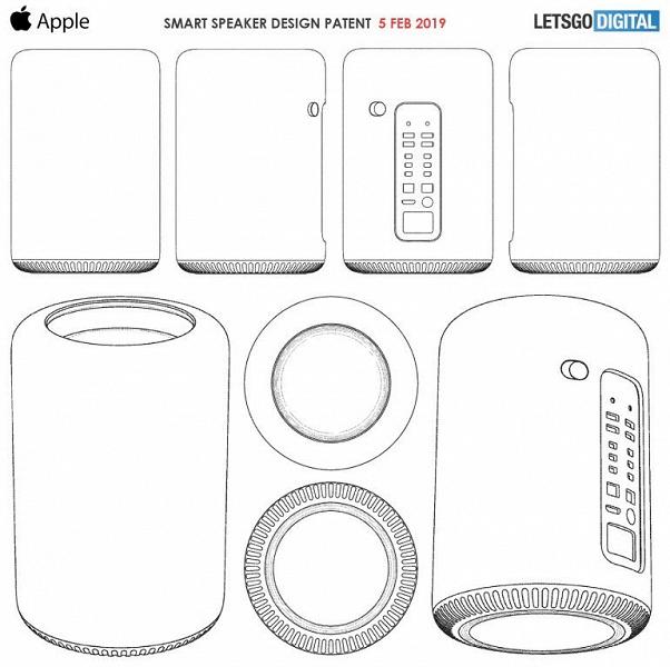 Опубликованы изображения умной колонки Apple HomePod нового поколения