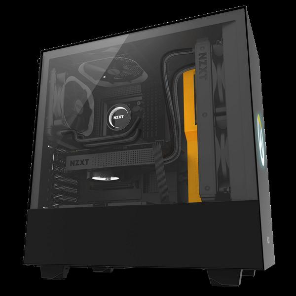 Корпус NZXT H500 Overwatch оформлен в стиле популярной игры