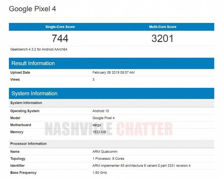 Смартфон Google Pixel 4 под управлением Android 10 разочаровывает своей производительностью