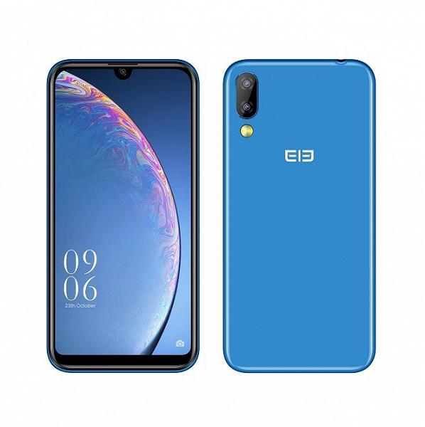 Дешевый смартфон Elephone A6 Mini получил целых 4 ГБ ОЗУ и сдвоенную камеру разрешением 16 Мп