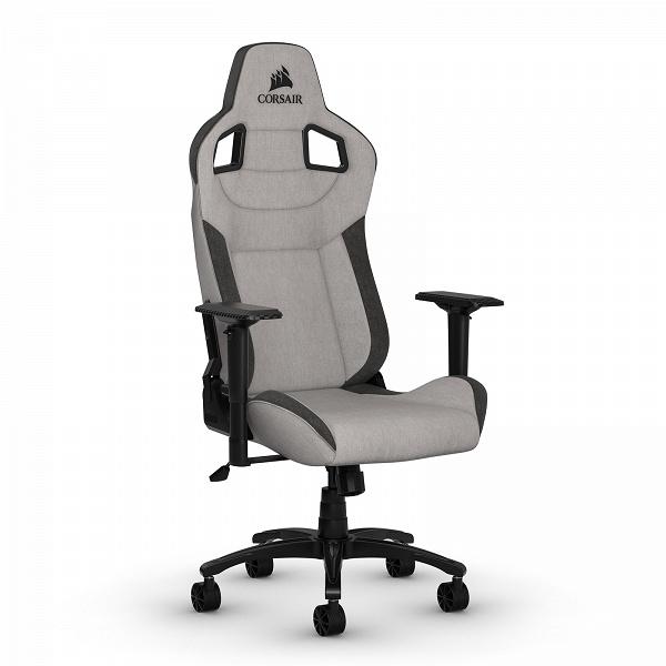 Игровое кресло Сorsair T3 Rush «навеяно атмосферой автогонок»