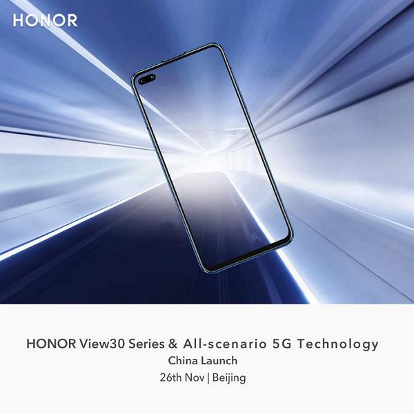 Флагманский камерофон Honor V30 удивит своей оптической стабилизацией