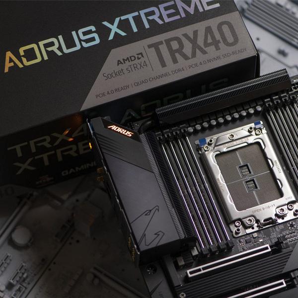 Названы цены системных плат Gigabyte на чипсете TRX40