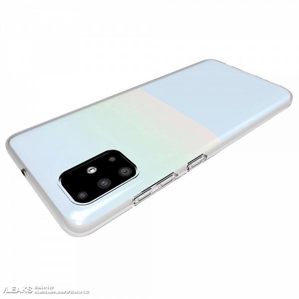 Samsung Galaxy A71 очень похож на Galaxy S11