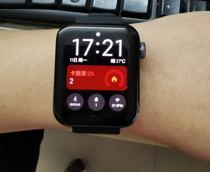 Первое обновление умных часов Xiaomi Mi Watch научит их работать с iPhone
