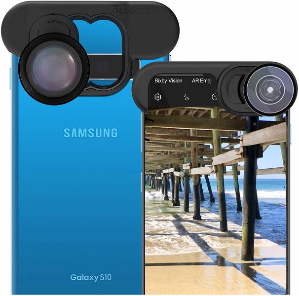 Компания Olloclip представила систему для крепления насадок на камеры Apple iPhone 11 и Samsung Galaxy S10