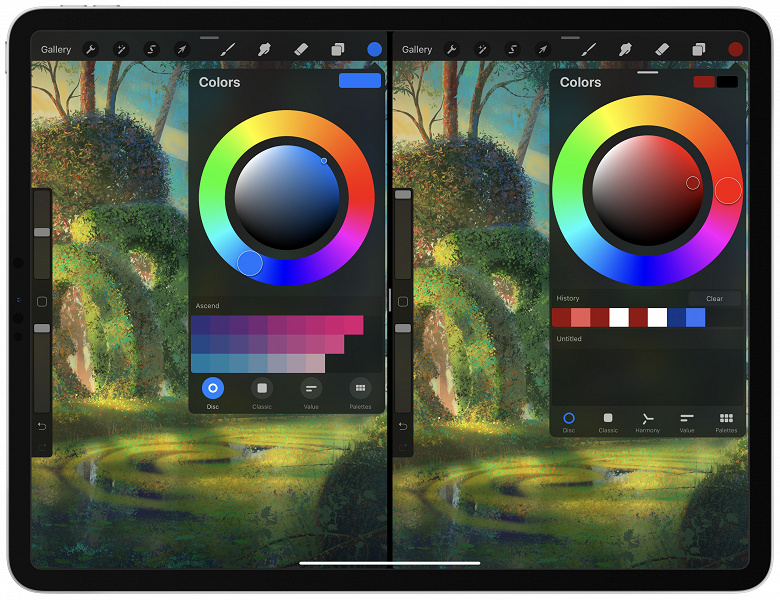 Лучшее приложение для рисования на iPad получило крупное обновление