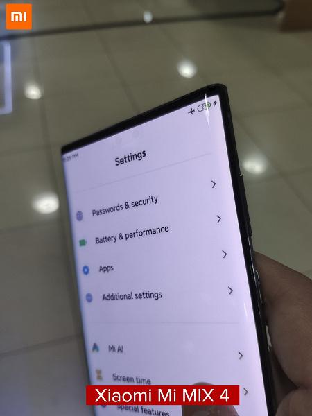 Второе разоблачение за день или Xiaomi Mi Mix 4 ненастоящий