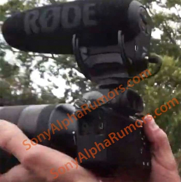 Камера Sony A7S3 с режимом 4K/120 fps впервые попала в кадр
