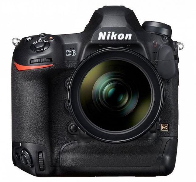 Камерам Nikon D6 и Canon EOS-1D X Mark III приписывают одинаковое разрешение