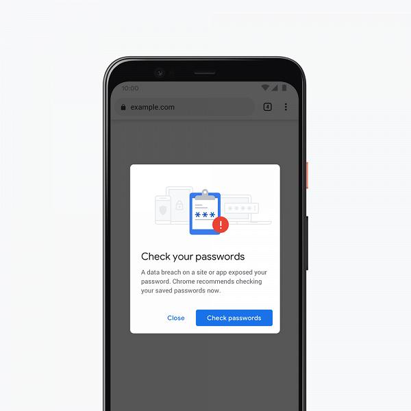 Google Chrome теперь предупредит вас в случае взлома вашей учётной записи на каком-нибудь сайте
