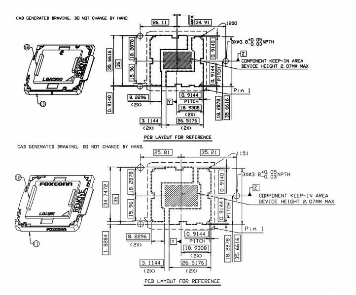 Похоже, что разъем Intel LGA1200 будет совместим с LGA115x на уровне систем охлаждения