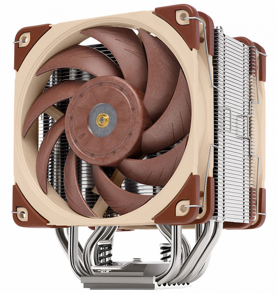 Представлена процессорная система охлаждения Noctua NH-U12A