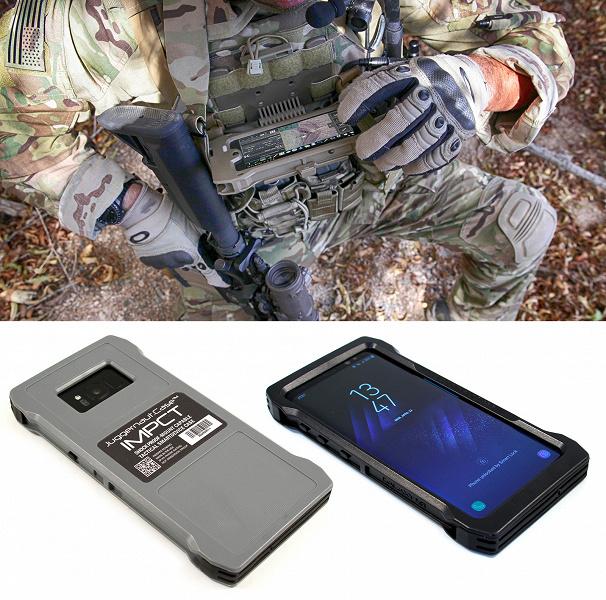 Чехлы Juggernaut.Case IMPCT делают смартфоны Apple и Samsung подходящими для правоохранительных органов и военных