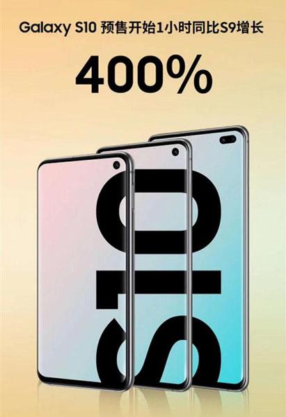 Похоже, интерес китайцев к смартфонам Samsung Galaxy S10 намного выше, чем сообщалось ранее