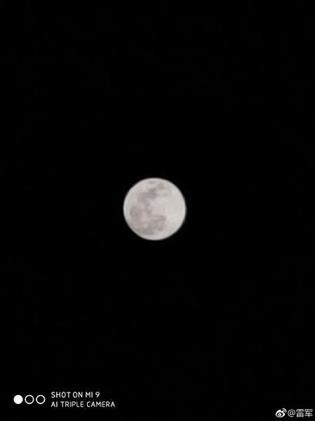 Камеру Xiaomi Mi 9 существенно улучшили. Теперь можно фотографировать Луну