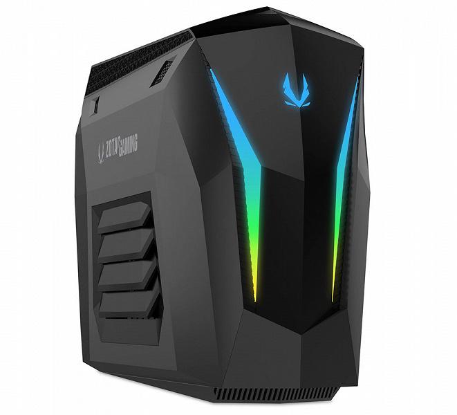 Zotac MEK Mini — девятилитровый ПК с видеокартой GeForce RTX 2070