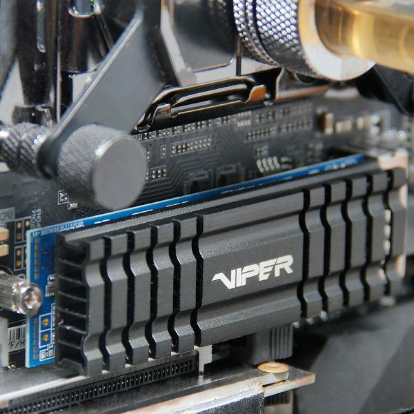 Твердотельные накопители Viper VPN100 с интерфейсом PCIe 3.0 x4 оснащены внушительными радиаторами