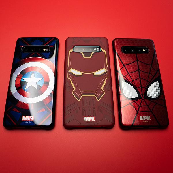 Samsung и Marvel выпустили уникальные чехлы для владельцев Galaxy S10, A50 и A70 и фанатов «Мстителей»