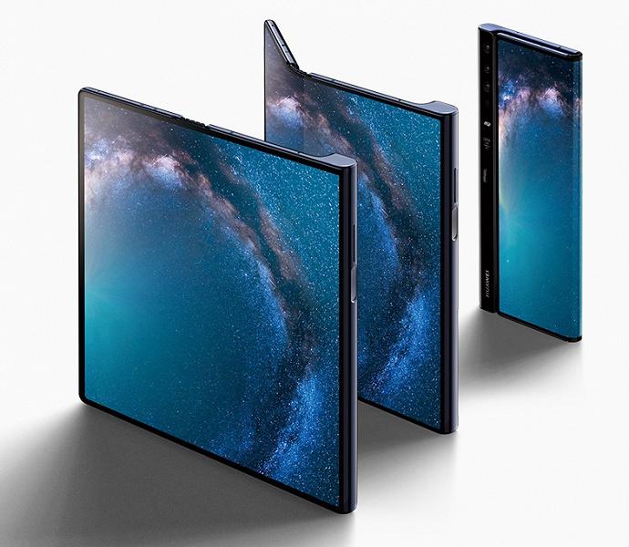 Складной смартфон Huawei Mate X появился в официальном интернет-магазине производителя
