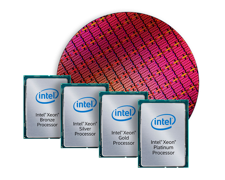 Линейка процессоров Intel Xeon Gold U включает 24-ядерную модель за 2000 долларов
