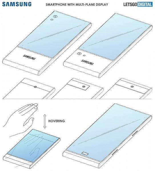 Samsung готовит смартфон с тремя экранами